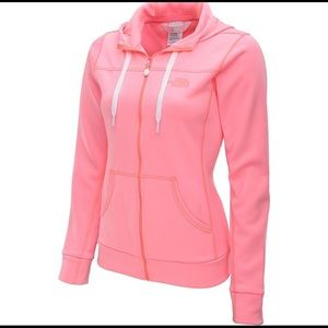 North Face Neon Pink Sweater